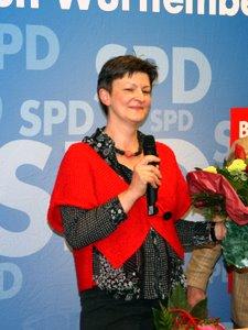 Die gewaehlte Kandidatin Saskia Esken