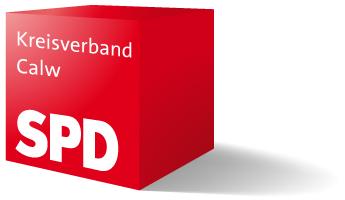 SPD-Würfel Kreisverband Calw (langer Schatten rechts)